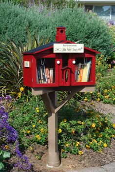 Joan Camana. La Mesa, CA. Our Little Free Library is a schoolhouse representing my career of over 40 years in education. My husband is the architect and builder. Our cul de sac is a favorite walking path for our neighborhood and we look forward to sharing the love of reading with our neighbors.