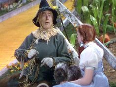 Dorothy & Scarecrow from The Wizard of Oz.