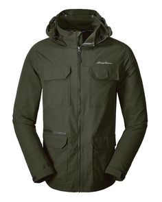 4d0f9e1efb Men's Atlas Stretch Hooded Jacket | Eddie Bauer Nike Jacket, Rain Jacket,  Travel Essentials