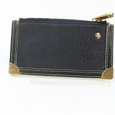 Buy your leather purse Louis Vuitton on Vestiaire Collective, the luxury consignment store online. Second-hand Leather purse Louis Vuitton Black in Leather available. Louis Vuitton Coin Purse, Louis Vuitton Monogram, Louis Vuitton Damier, Key Pouch, Pouch Bag, Cosmetic Pouch, Authentic Louis Vuitton, Leather Purses, Women's Accessories