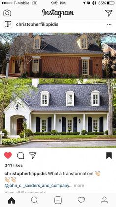 home remodel exterior ranch - Home & DIY Home Exterior Makeover, Exterior Remodel, Modern Exterior, Exterior Design, H Design, House Design, House Makeovers, Outdoor Living, Indoor Outdoor