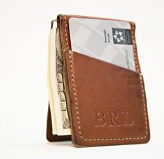 White Wing Leather Money-Clip Wallet @ L.V. Harkness $36.00 #fathersday #lvharkness #gift #whitewing