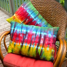 Hand Dyed Pillowcase  Bamboo  Tie Dye  Queen/ by Wildflowerdyes                                                                                                                                                                                 Mais