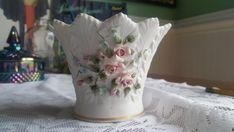 1949-1955 #vintage #Lefton #China #vase #planter #bowl No 826 #Bisque https://www.etsy.com/listing/499555429/1949-1955-vintage-lefton-china-vase?utm_campaign=crowdfire&utm_content=crowdfire&utm_medium=social&utm_source=pinterest