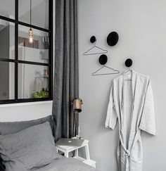 home with grey walls