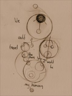 A quote from End Of Time in Gallifreyan