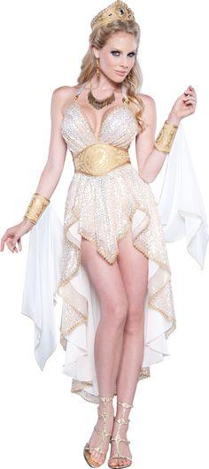 glamorous sexy greek goddess costume