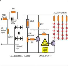 led lamp circuit circuitdiagram org pinterest led rh pinterest com