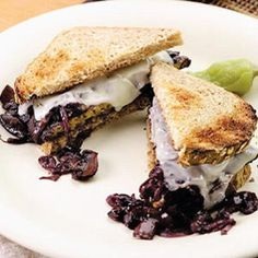 Smothered Tempeh Sandwich - Fitnessmagazine.com