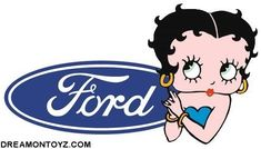 Betty Boop Pictures Archive: Pictures of Betty Boop with Ford logo Online Social Networks, Betty Boop Pictures, Cartoon Characters, Fictional Characters, New Image, Mickey Mouse, Ford, Blue And White, Disney Princess
