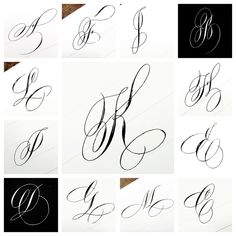 Time sure flies when you're writing as a community. Calligraphy Fonts Alphabet, Brush Pen Calligraphy, Calligraphy Drawing, Copperplate Calligraphy, Tattoo Lettering Fonts, Hand Lettering Alphabet, Types Of Lettering, Graffiti Lettering, Penmanship