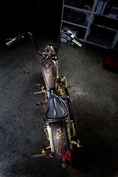 HDLégende 76 - Custom Battle 2013 : Sportster 72 Harley Davidson Rouen - France