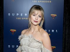 The CW has halted productions of future episodes for the superhero shows. The future of 'Supergirl' is in discussion. Melisa Benoist, Melissa Marie Benoist, Sleek Hairstyles, Celebrity Hairstyles, Growing Out A Bob, Series Dc, Blond, Textured Bangs, Parted Bangs