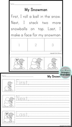 Sequencing Stories Seasons Pack Includes Stories For Fall Winter Spring And Summ Sequencing Worksheets First Grade Reading Comprehension Sequence Writing