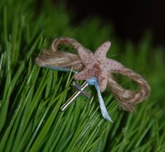 Nautical Starfish Witness Pin Martrika by KoulEvents on Etsy, $10.00