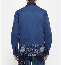 Junya Watanabe Patchwork Denim Overshirt