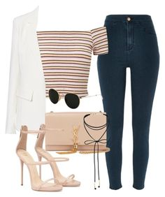 A fashion look from August 2016 featuring pink crop top, pocket jacket and River Island. Browse and shop related looks. Teenage Girl Outfits, Teen Fashion Outfits, Kpop Outfits, Edgy Outfits, Cute Casual Outfits, Korean Outfits, Retro Outfits, Look Fashion, Korean Fashion