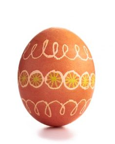 Wax-Resist Easter Egg Dyeing Ideas
