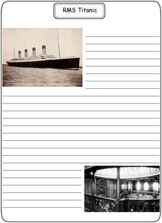 Titanic Activity Worksheets | Coloring Pages Titanic