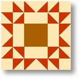 Quilt Blocks of the States - Arizona Hills -