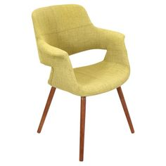 Vintage Flair Mid-century Modern Accent Chair - Overstock™ Shopping - Great Deals on LumiSource Living Room Chairs