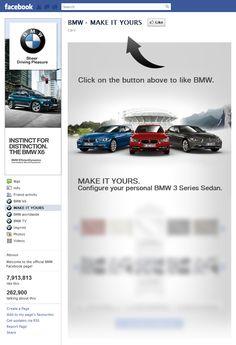 Tab Facebook: BMW
