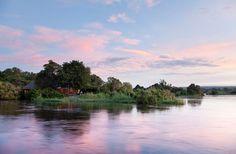 Royal Chundu Island Lodge on the Zambezi river, Zambia David Livingstone, Pine Island, Victoria Falls, Bungee Jumping, Luxury Holidays, Africa Travel, Holiday Destinations, Places To See, Travel Photography