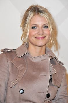 Melanie Laurent attends the Burberry Paris Boutique Opening At British Embassy on December 1, 2011 in Paris, France