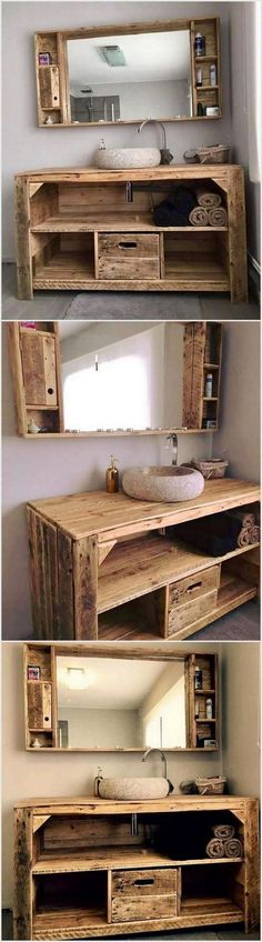 66 CREATIVE WOOD PALLET FURNITURE WITH EASY WAYS TO MAKE