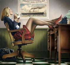 ✿Time For Coffee & Tea✿ Paul Kelley