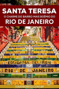 O que fazer em Santa Teresa, Rio de Janeiro. #riodejaneiro #brasil #americadosul #viagem #ferias #praia #dicas Santa Teresa Rio, Solo Travel, Travel Tips, Visit Brazil, Rock In Rio, Brazil Travel, South America Travel, Central America, Travel Inspiration