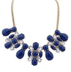2014 Hot European And American Fashion Bib Necklace For Women