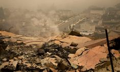 Charred homes and crumbled walls: tallying the destruction of a California wildfire   US news   The Guardian