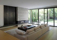 Interior aspect of the Stone House in Toronto, Canada by Atelier Kastelic Buffey