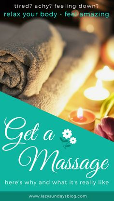 Everyone can reap the benefits of massage. Should you get a massage? Walk through an appointment and let me convince you why you're worth it. #massage #selfcare #relax