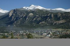Estes Park - Colorado. Cannot wait to be in our favorite town this week!!!;) Missed it over the winter!