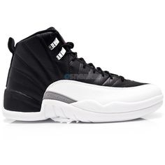 b4aee9ebdb14 Air Jordan XII (12) Retro Playoff 2012 ❤ liked on Polyvore featuring shoes