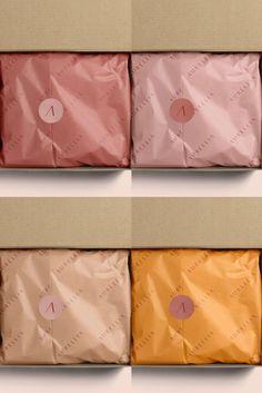 Packaging Carton, Paper Packaging, Beauty Packaging, Cute Packaging, Brand Packaging, Fashion Packaging, Packaging Ideas, Clothing Packaging, Jewelry Packaging