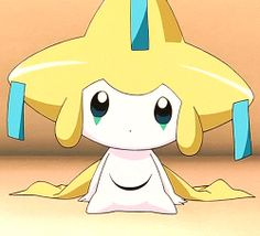 Star. She abandon her self and made her self a jirachi.  She was a kyogre but she was tired of team aqua. She lives in the present open