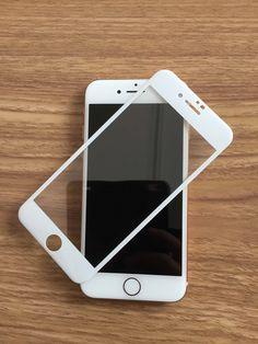 Tempered Glass Screen Protector, Carbon Fiber, Iphone 8, 3d