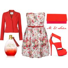 """""""red"""" by mohamed-el-saka on Polyvore. So not my traditional look but i wud def do this one"""