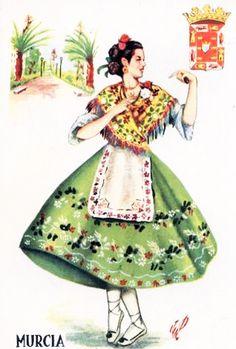 Murcia, Spanish Fashion, Bad Girl Aesthetic, Fashion History, Spain, Apron Patterns, Costumes, Disney Princess, Disney Characters