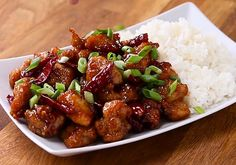 General Tso's Chicken Recipe by Tasty - Rezepte Bow Chinese Dinner, Chinese Food, Chinese Chicken, Chicken Recipes Video, Asian Recipes, Ethnic Recipes, Oriental Recipes, Chinese Recipes, Slow Cooker Beef