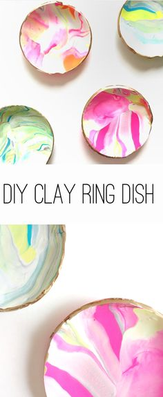 DIY Clay Ring Dish | Thoughtfully Simple