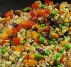 Rainbow Rice by Eat. Breathe. Balance