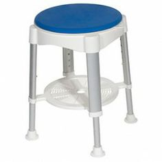 Bath Stool with Padded Rotating Seat - Price ( MSRP: $ 75.82Your Price: $48.49Save up to 36% ). http://www.discountmedicalsupplies.com/store/bath-and-shower-safety/showers-stools-seats/bath-stool-with-padded-rotating-seat.html
