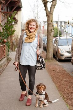 Urban Weeds: Street Style from Portland Oregon: Addy on N Missippi Portland Oregon