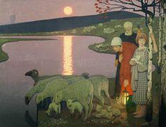 Cayley Robinson ~ Symbolist painter and illustrator