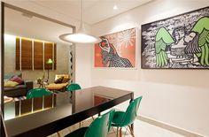Decoração de: Detalhes; quadro grafite; Casa de Valentina