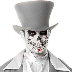 Mens Dia De Los Muertos Mask